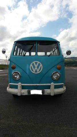 Kombi Corujinha 1964 azul, motor, suspenção, freios e elétrica nova - Foto 3