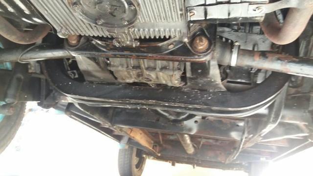 Kombi Corujinha 1964 azul, motor, suspenção, freios e elétrica nova - Foto 11