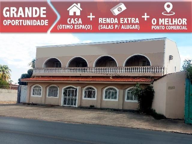 Ponto Comercial em Cuiabá Casa com Salas Comerciais - Sobrado - Foto 4