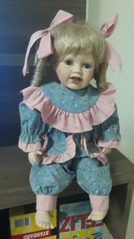 Boneca meu bebe em porcelana para efeito decorativo - Foto 2