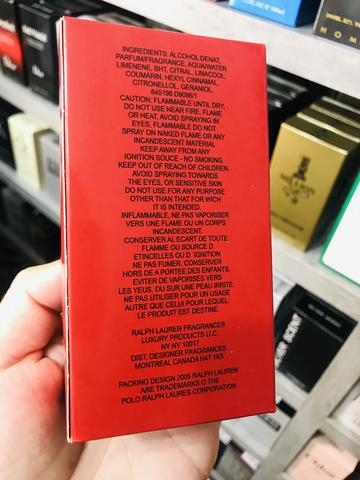 Perfume Polo Red Vermelho Ralph Lauren Eau de Parfum 100ml - Foto 2
