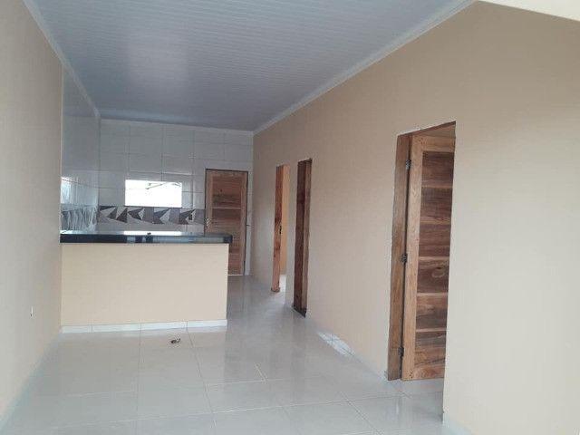 R$140.000 reais Financiamento de Casa no Novo Estrela em Castanhal 2 quartos com 1 suíte - Foto 4