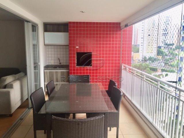 Apartamento com mobilia Área Útil 130m² 2 vagas de garagem Gleba Palhano - Foto 6