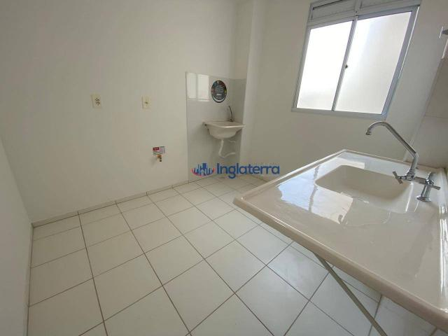 Apartamento com 2 dormitórios para alugar, 47 m² por R$ 600,00/mês - Jardim Morumbi - Lond - Foto 5