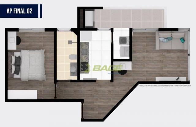 Apartamento com 1 dormitório à venda, 32 m² por R$ 199.000,00 - Centro - Pelotas/RS - Foto 5