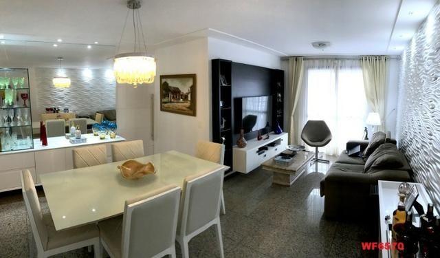 Edifício Cidrão Place, apartamento na Aldeota, 3 suítes, gabinete, 2 vagas, projetado - Foto 2