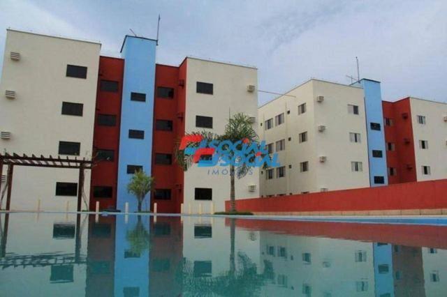 Condomínio Residencial RK com 02 dormitórios, bairro Industrial