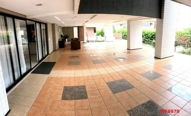 Edifício Cidrão Place, apartamento na Aldeota, 3 suítes, gabinete, 2 vagas, projetado - Foto 16