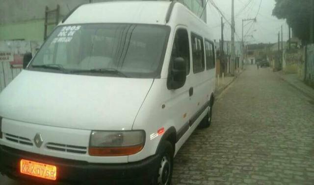 Renault master 2.5 minibus 16 lugares teto alto R$28.000 pra troca R$32.000 - Foto 7