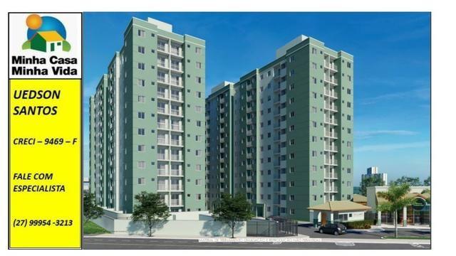 UED-23 - Apartamento térreo com quintal de 26 metros quadrados - Foto 2