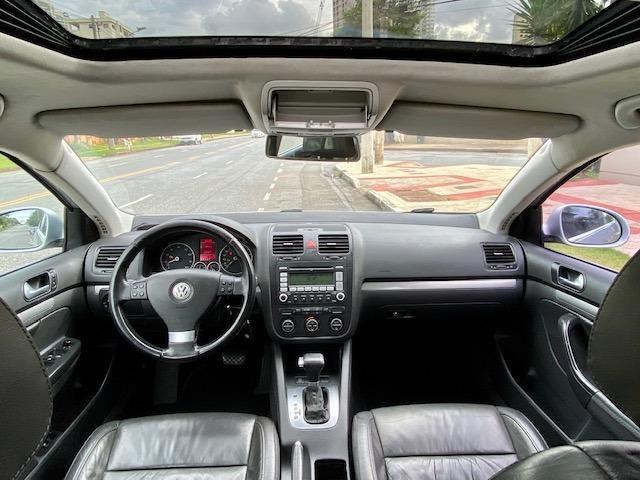 VW Jetta 2.5 automatico / Tiptronic 2008 + Teto solar - Particular - Foto 9