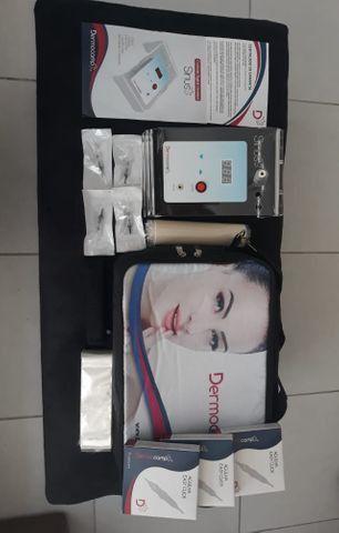 Micropigmentação - Combo Dermografo Sharp 300 Pró + Mala + Cartucho Pele Art.+ Batoque - Foto 2