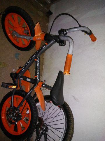 Bike aluminio freio a disco infantil so 269 - Foto 2