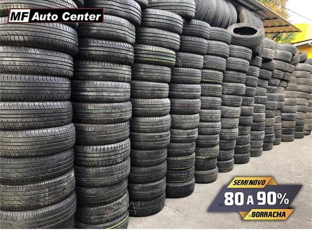 ?Pneus semi novos 205/55-16 Bridgestone