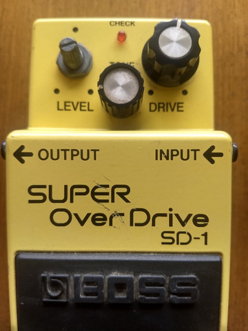 Pedaleira Super Over Drive SD-1