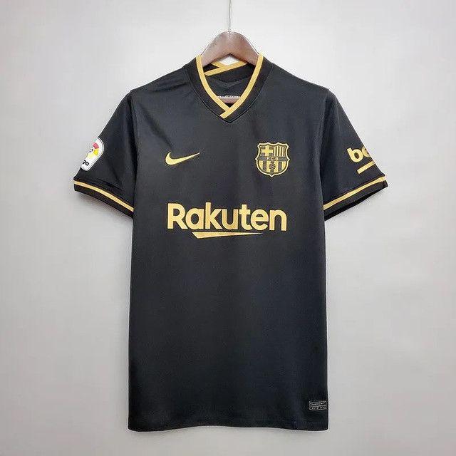 Camisas dos principais times Nacionais e Internacionais da temporada 20/21 - Foto 3