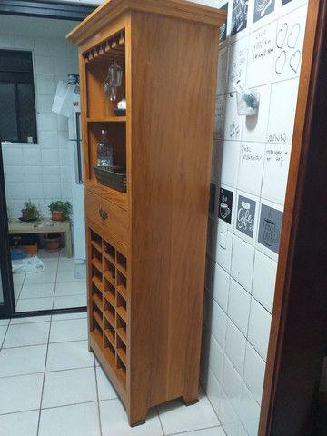 Bar Adega de Madeira Maciça  - Foto 2