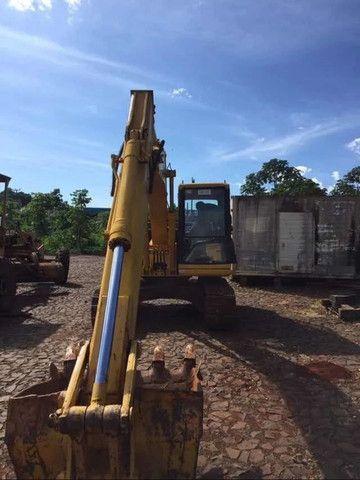 Escavadeira-hidraulica komatsu pc-120 - Foto 2