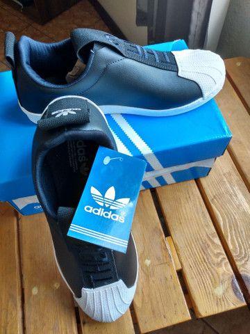 Adidas superstars slip on num 41 - Foto 2