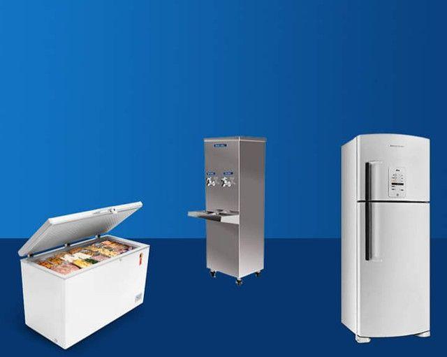 Conserto de geladeira bebedouro freezer ar condicionado - Foto 2