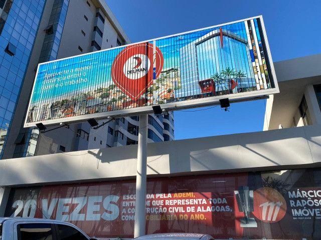Painel Triedo de 9x3m para propaganda - usado - Foto 4