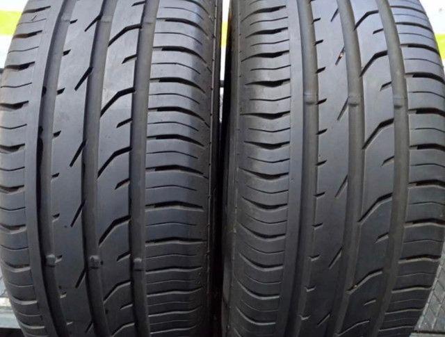 ?Pneus semi novos 205/55-16 Bridgestone - Foto 18