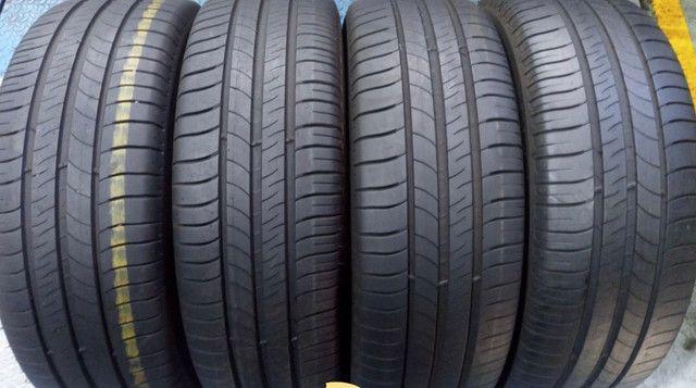 ?Pneus semi novos 205/55-16 Bridgestone - Foto 12