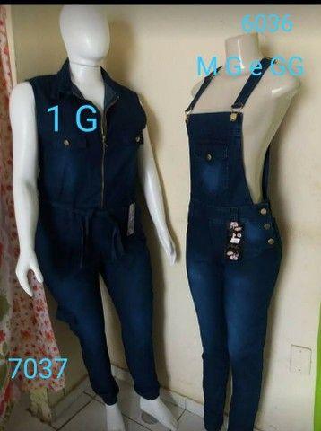 Macacão jeans - Foto 6