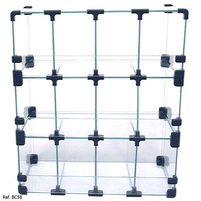 Baleiro Expositor Modulado em Vidro ? 0,40 x 0,45 x 0,20 - Foto 2