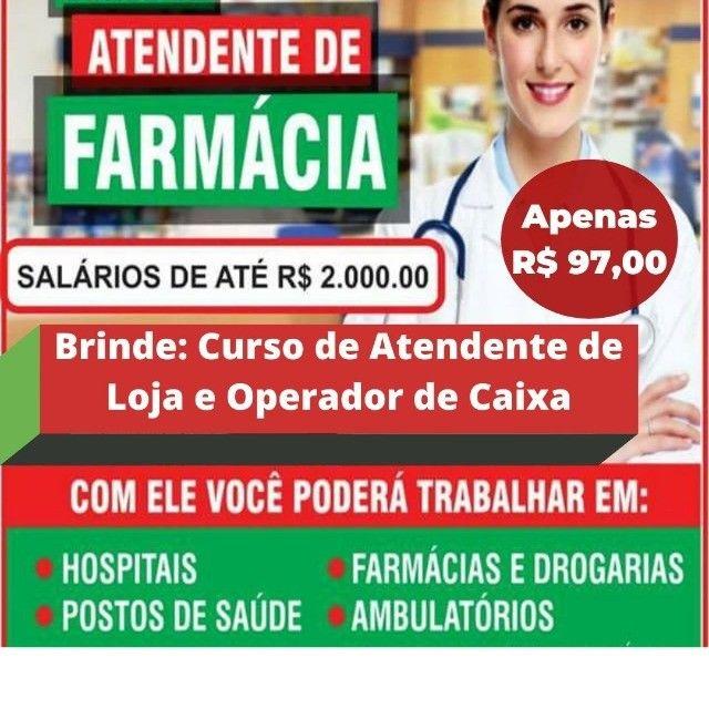 Curso atendente de farmácia  - Foto 5