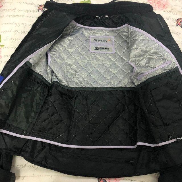 BARBADA- Conjunto Motociclista (Jaqueta e calça) Riffel Feminino Dynamic 2.0  - Foto 5