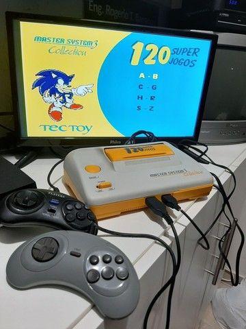 Master System 3 Collection com 120 Jogos   - Foto 2