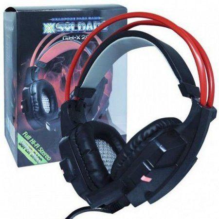 Headset Gamer com microfone luz led colorido - Foto 2
