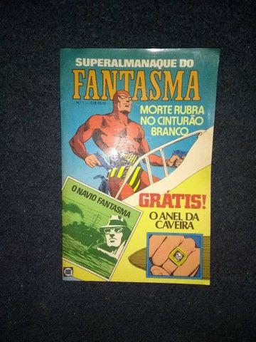 Super Almanaque Do Fantasma Nº 1 - Anos 80
