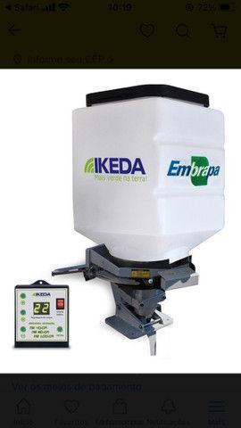 Semeadora Adubadora Para Trator Ms 100 Cr  Ikeda Embrapa Com Controle