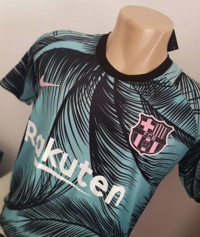 Camisa do Barcelona pré jogo 2020/2021 - Foto 3