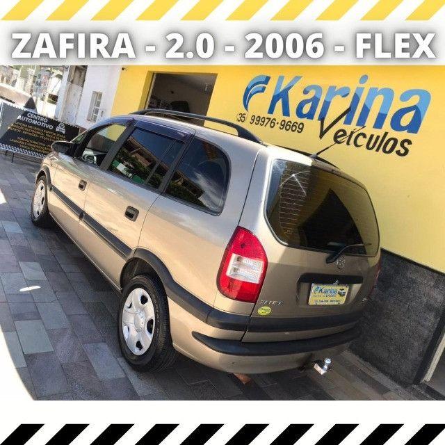 Zafira Comfort - 2.0 - 2006 - Flex - Carro impecável!!! - Foto 2