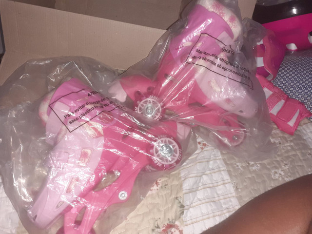 Vendo patins novo na caixa  - Foto 2