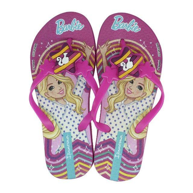 Chinelo Infantil Ipanema Barbie Style Menina Rosa