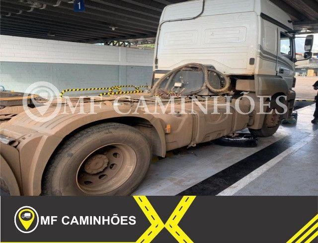 Mercedes-benz Axor 2644 6x4 2019 Teto Alto seminovo - Foto 3