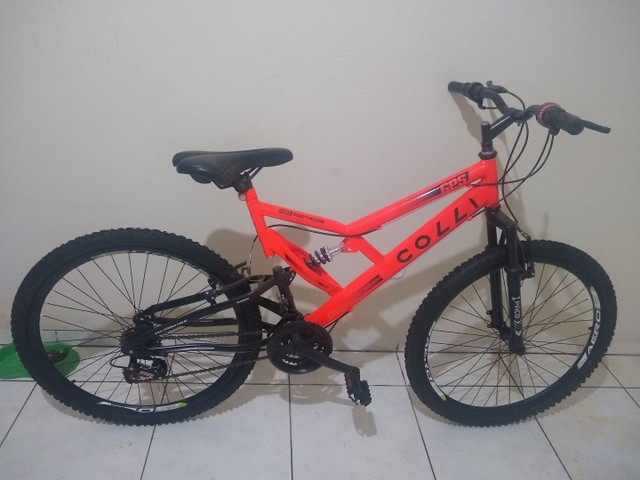 Bicicleta Colli Laranja Neon Aro 26  - Foto 2