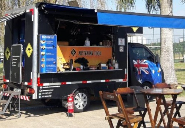 Food Truck Hyundai HR oportunidade