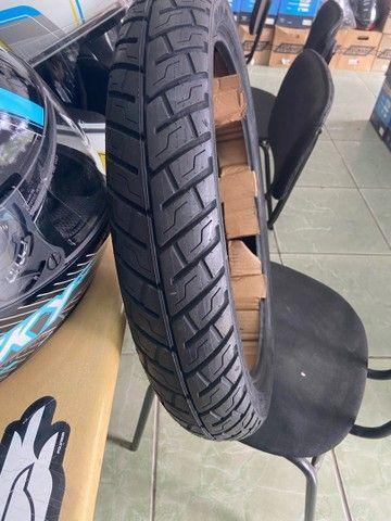 Pneu traseiro para motos michelin 90/90-18 fan titan factor entrega  todo Rio  - Foto 3