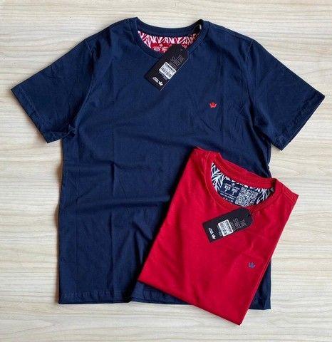 Camisas T-Shirt Básica Fio 30.1 Penteado - Foto 3
