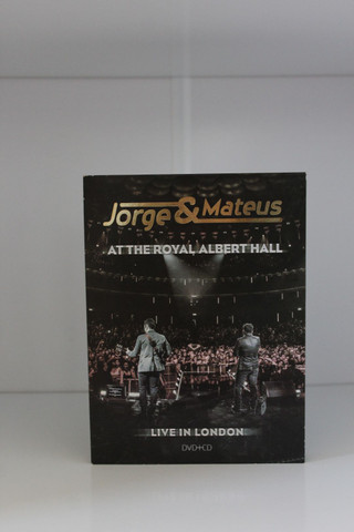 Dvd + Cd Original Jorge & Mateus : At the Royal Albert Hall - Live in London.