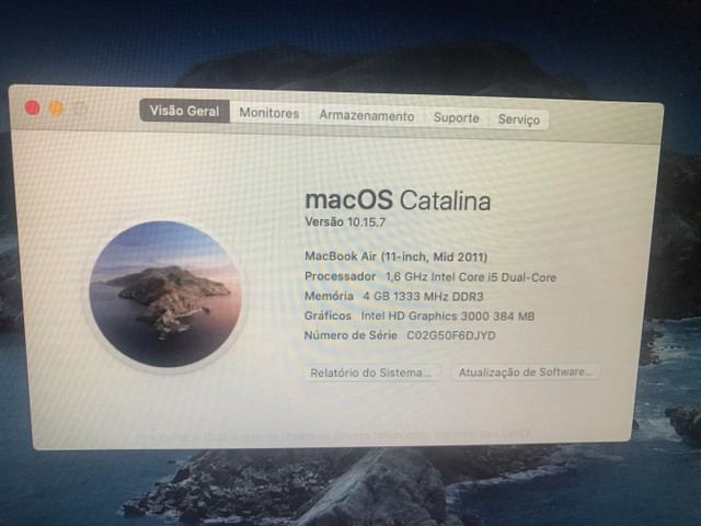 MacBook air mid 2011 11pol  - Foto 2