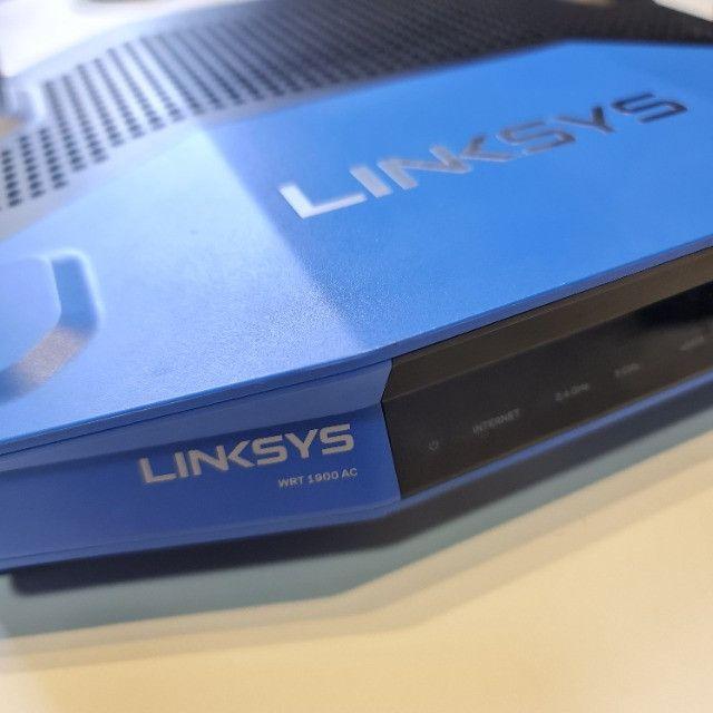 Roteador Linksys WRT 1900AC - 2.4 / 5 GHz Corporativo/Gamer exigente - Foto 2