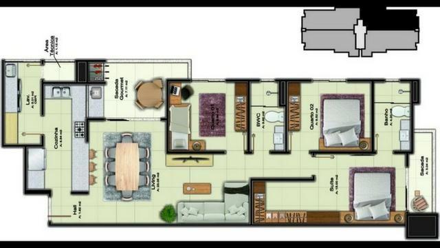 Apartamento com padrão A no Costa e Silva, entrega jun/2020 - Foto 7
