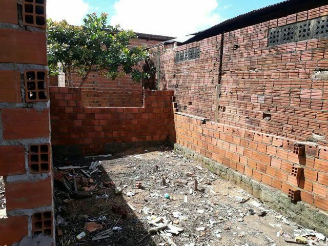 Vendo casa em construção no bairro Infraero ll