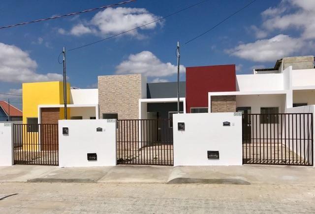Casa pronta para morar com fachada moderna 150 mil